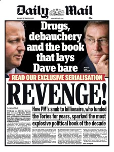 #PigGate Daily Mail Front Page