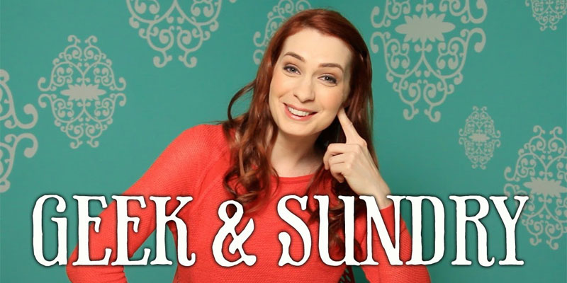 Geek and Sundry founder Felicia Day