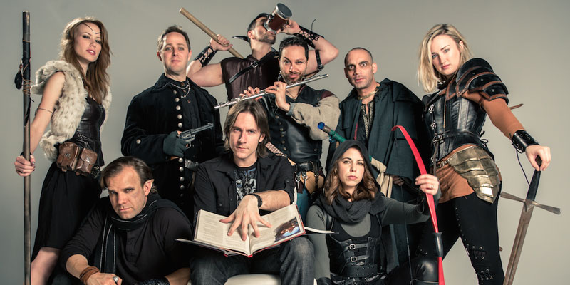 The cast of critical role