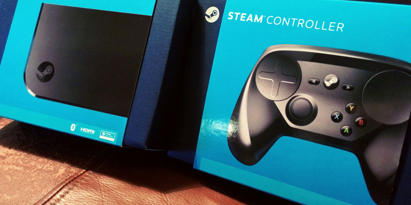 Valve's Steam Controller and Steam Link